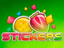 Игровой автомат на деньги Stickers от Netent